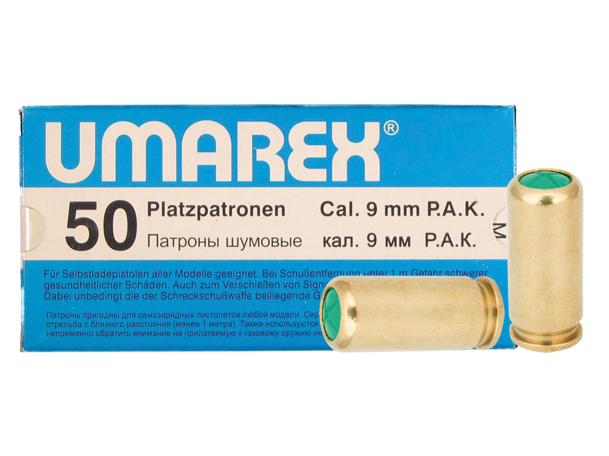 Walther 9mm PAK Blank Rounds