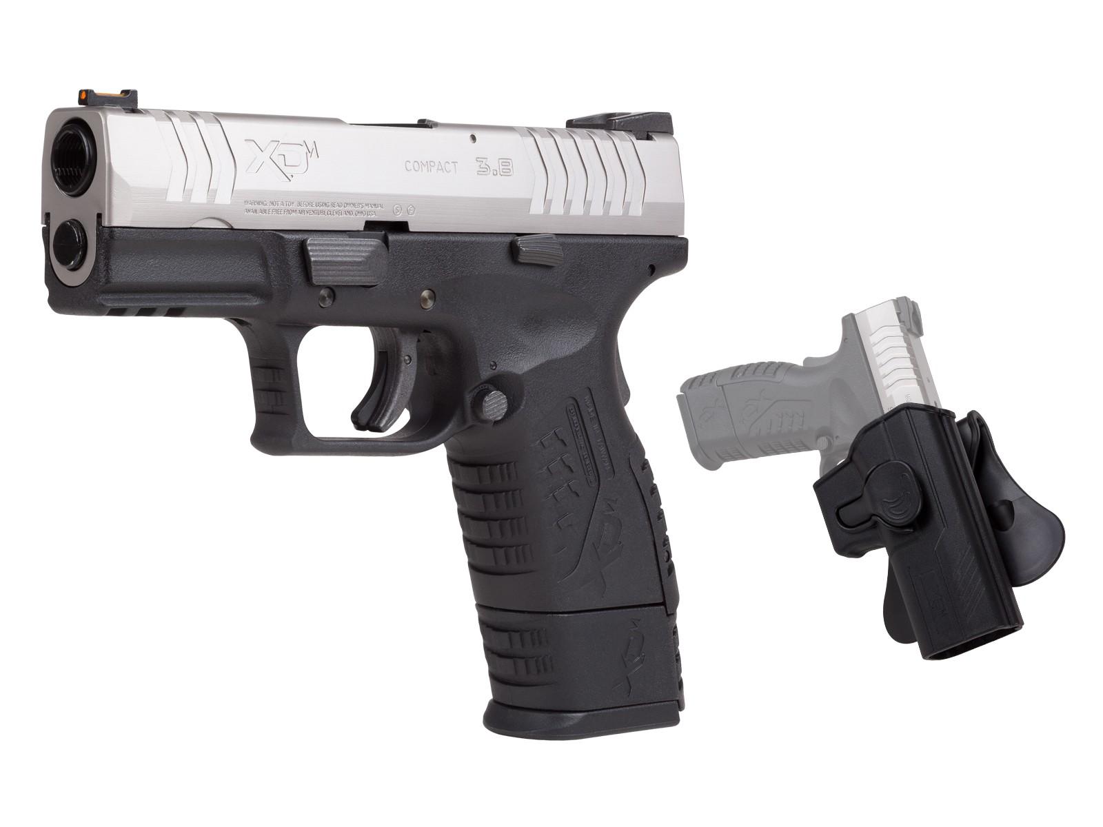 "Springfield Armory XDM 3.8"", Bi-Tone, BB Pistol"