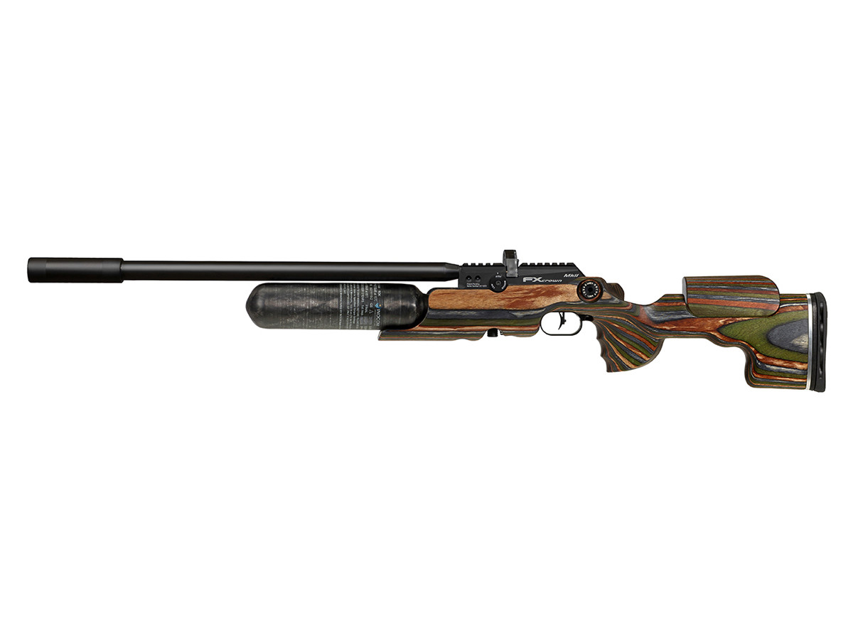 FX Crown MKII, GRS Green Mountain Laminate, 500mm Barrel, Right-Handed, .177 Caliber