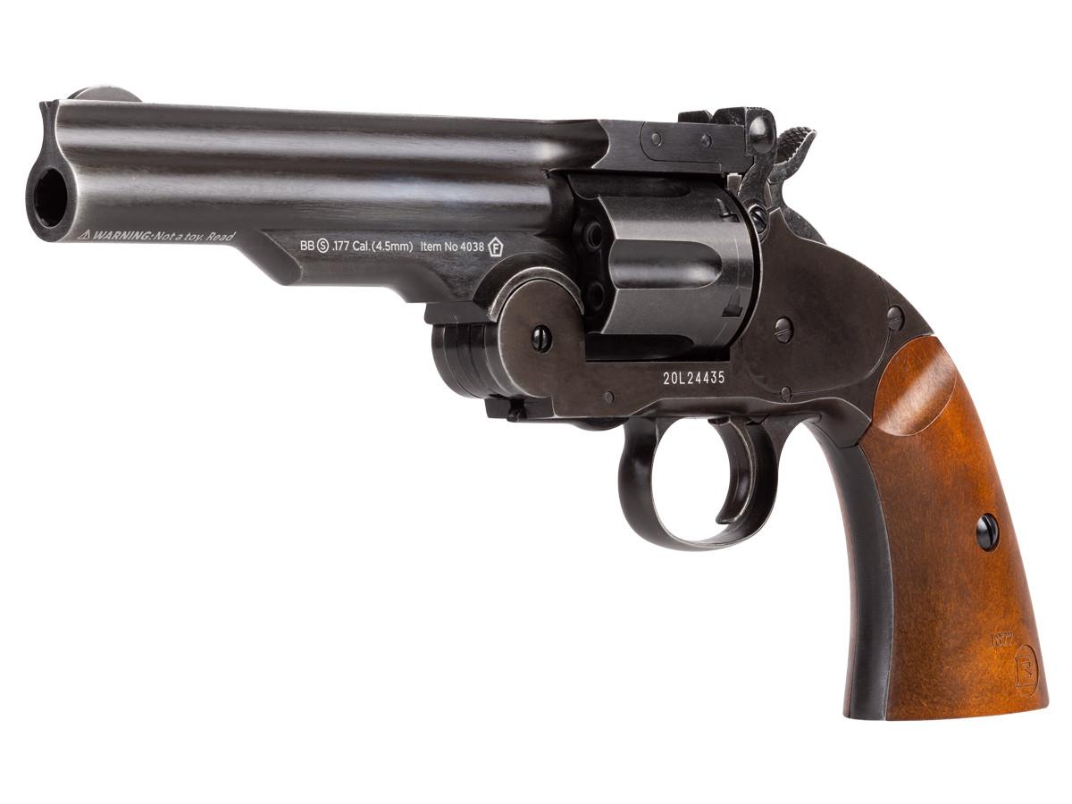 "Schofield No. 3 BB Revolver, 5"" Aged"