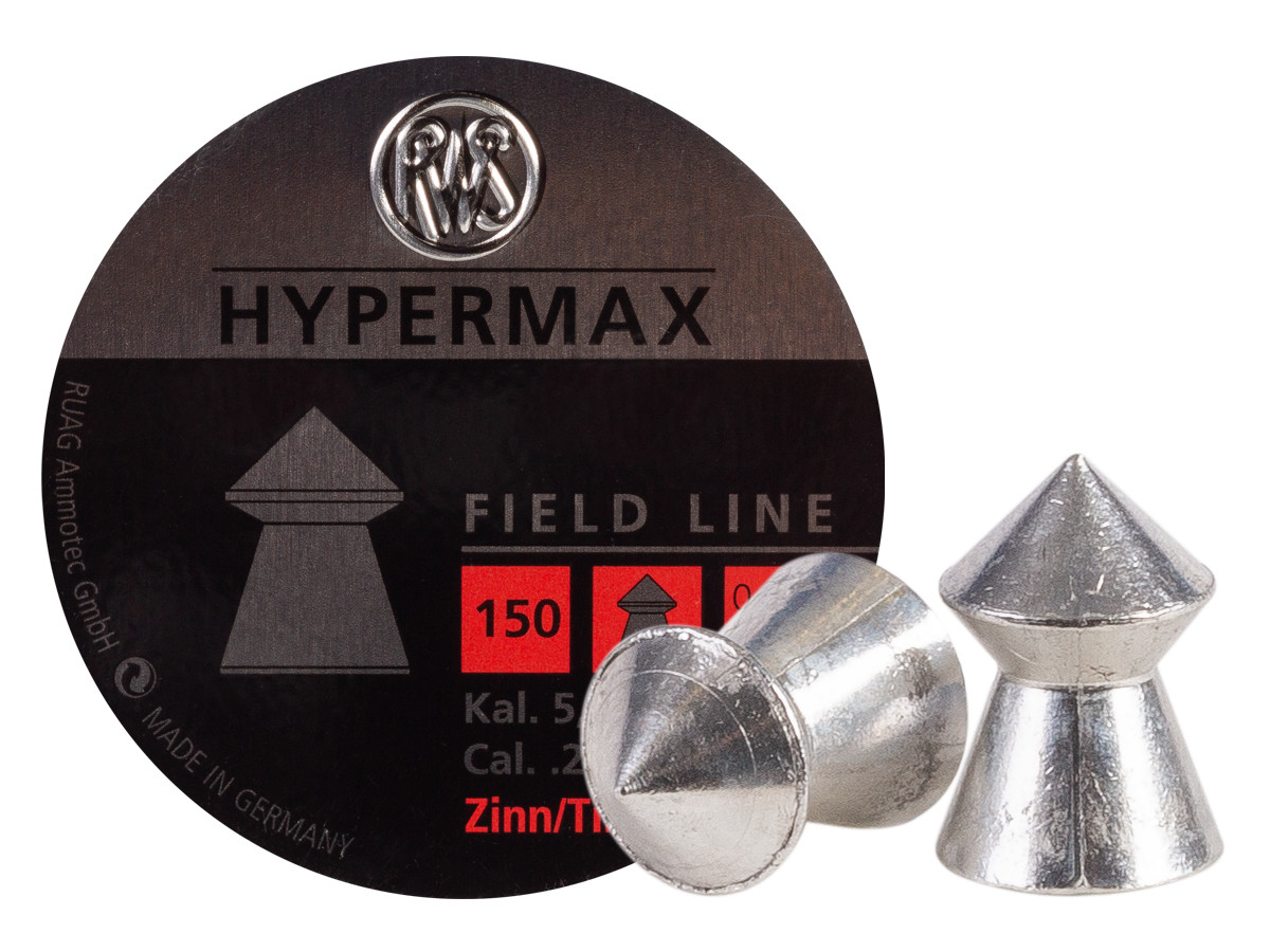 RWS HyperMAX .22 Cal, 9.9 gr - 150 ct
