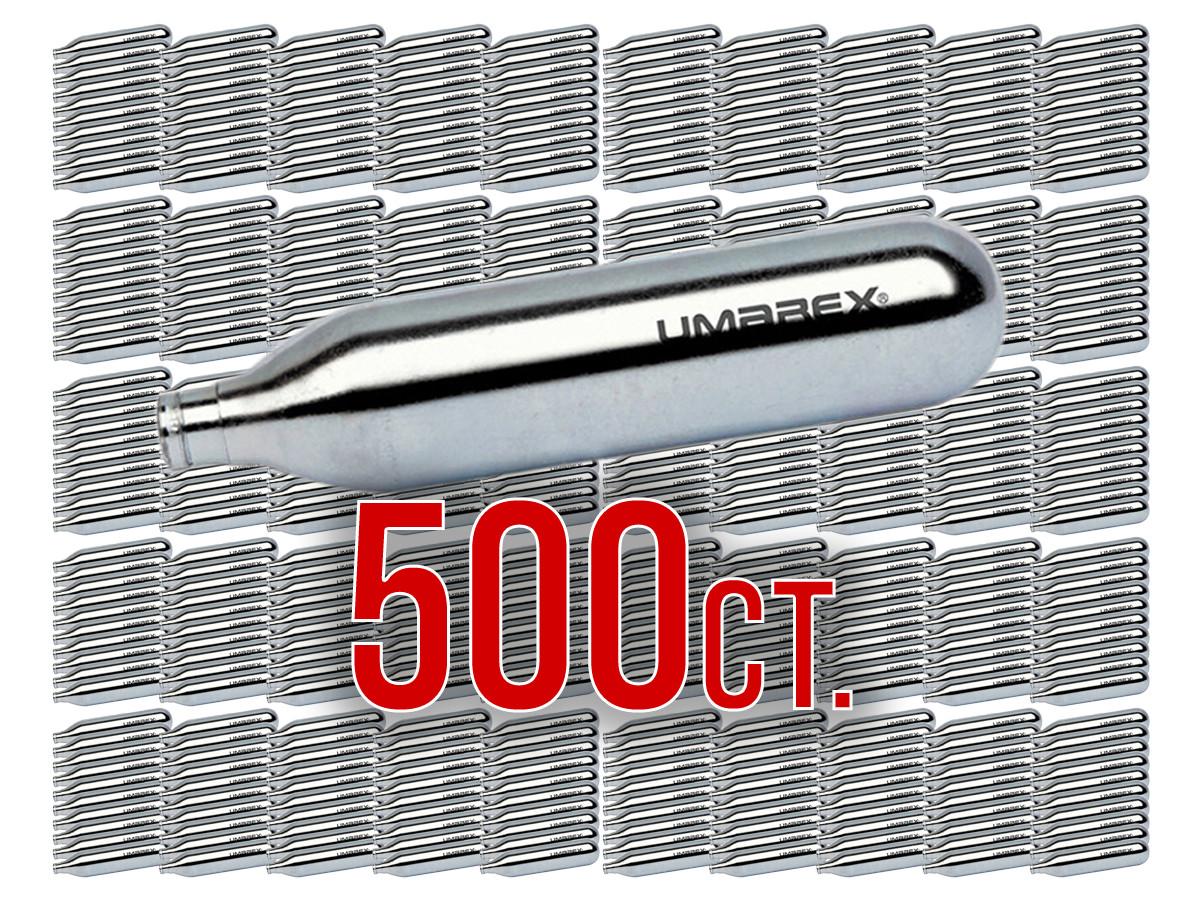 Umarex 12-Gram CO2 Cartridges, 500ct