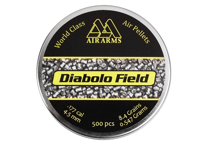 Air Arms Diabolo Field .177 Cal (4.51mm), 8.44 gr - 500ct