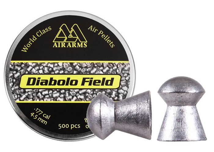 Air Arms Diabolo Field .177 Cal (4.51mm), 8.44 gr - 500ct