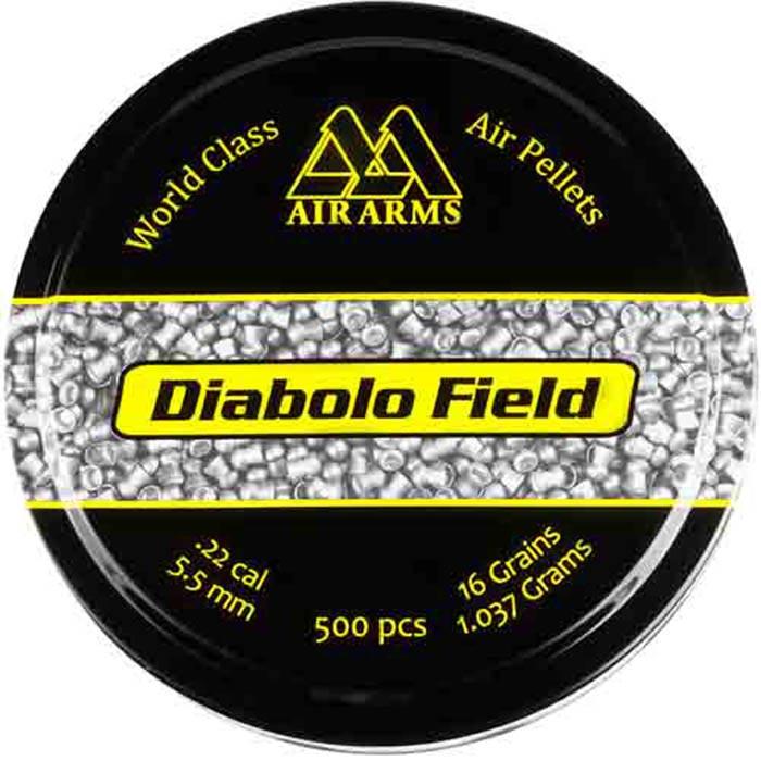 Air Arms Diabolo Field .22 Cal (5.51mm), 16 gr - 500ct