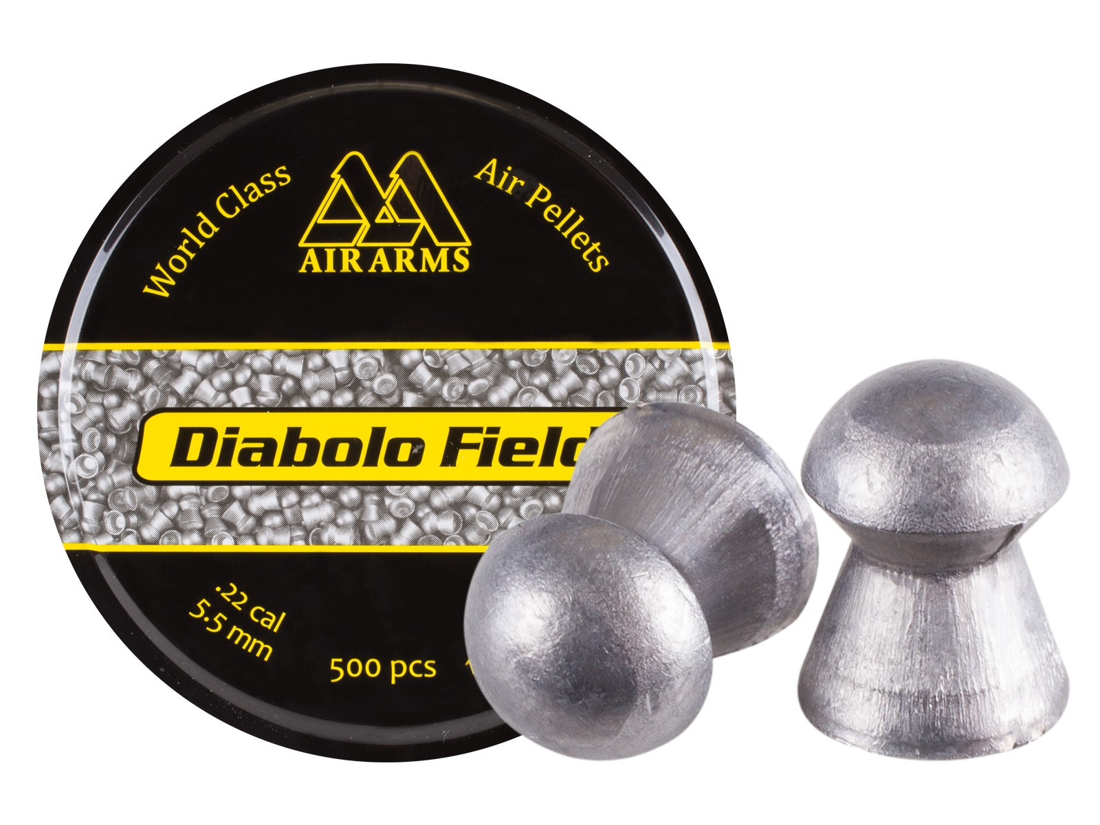Air Arms Diabolo Field .22 Cal (5.51mm), 16 gr - 500ct