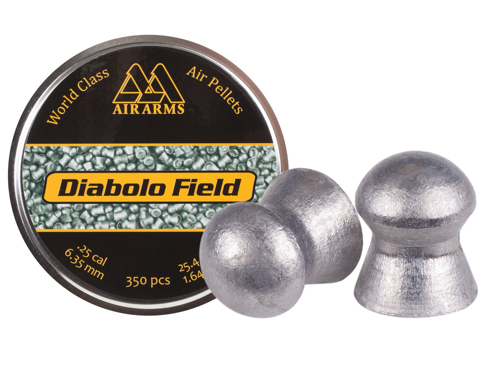 Air Arms Diabolo Field .25 Cal, 25.4 gr - 350ct