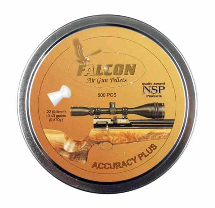 Air Arms Falcon .22 Cal (5.52mm), 13.43 gr - 500ct