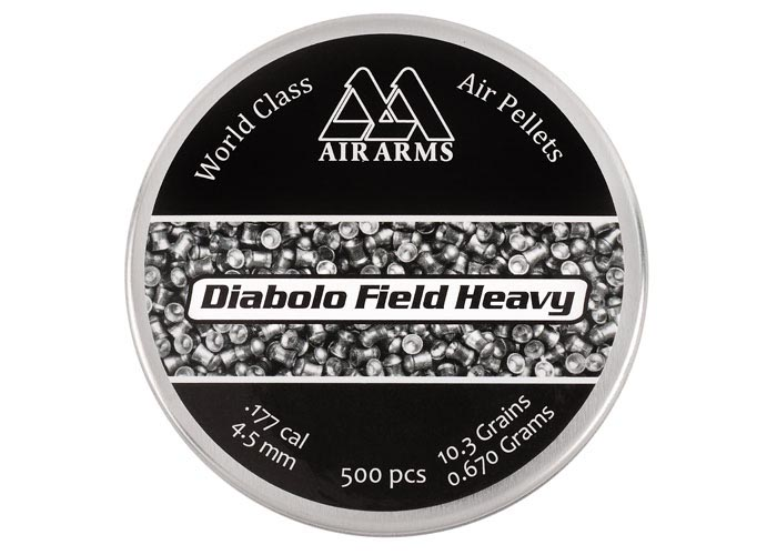 Air Arms Field Heavy .177 Cal (4.52mm), 10.34 gr - 500ct