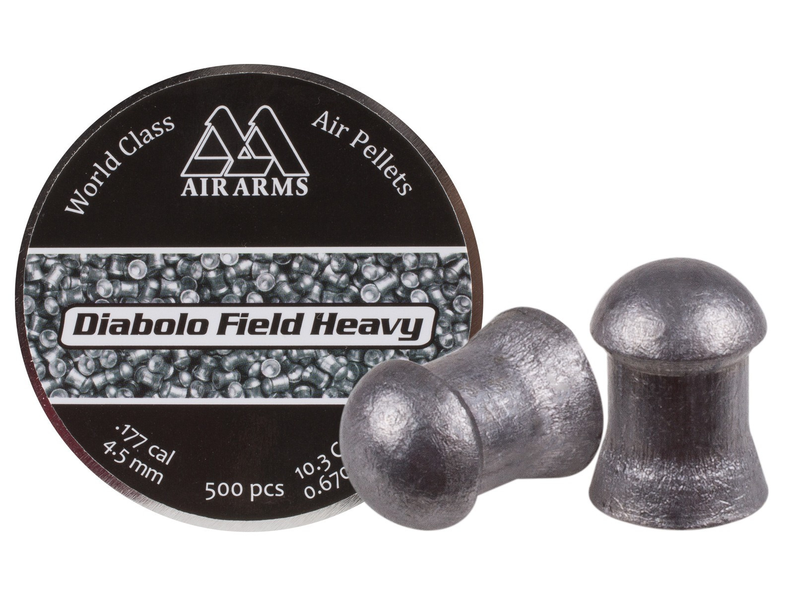 Less Than £12 Per Tin !! X1000 Air Arms .177 Diablo Field .451 Air Gun Pellets