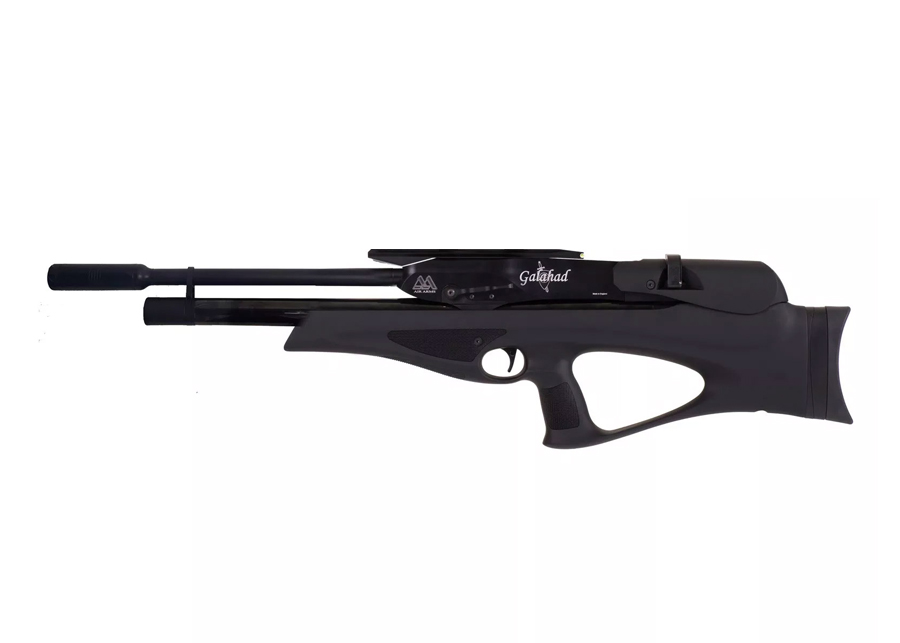 Air Arms Galahad, Black w/ Moderator