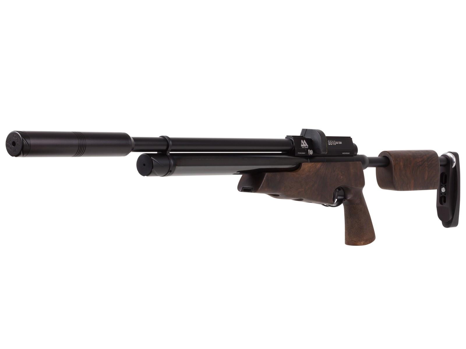 Air Arms S510 XS TDR Regulated, Walnut, PCP Air Rifle
