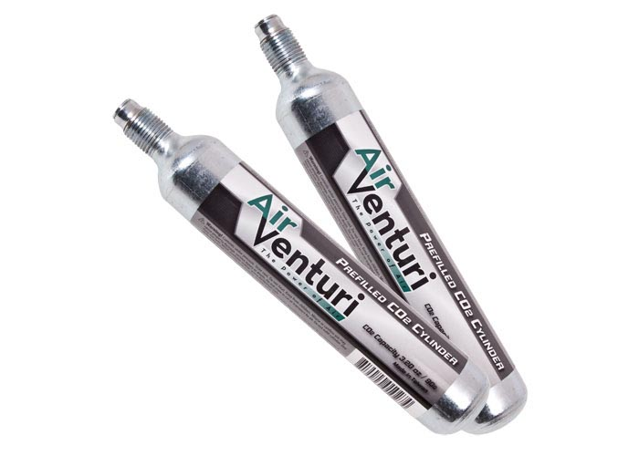 Air Venturi 90 gram CO2 Cylinders, 2 Pack (*)
