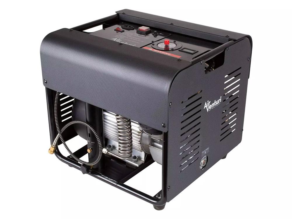 Air Venturi Air Compressor, Electric, 220V, 4500 PSI/300 Bar