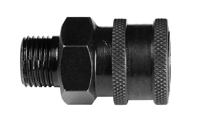 "Air Venturi Female Quick-Disconnect Adapter, 1/8"" BSPP Male Threads"