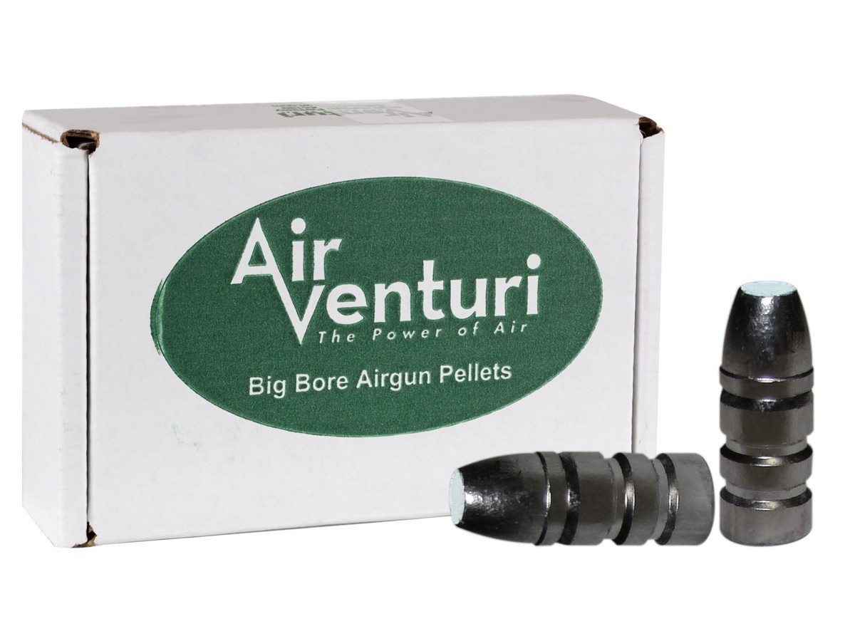 Air Venturi Flat Point .257 Caliber, 87 gr - 100 ct