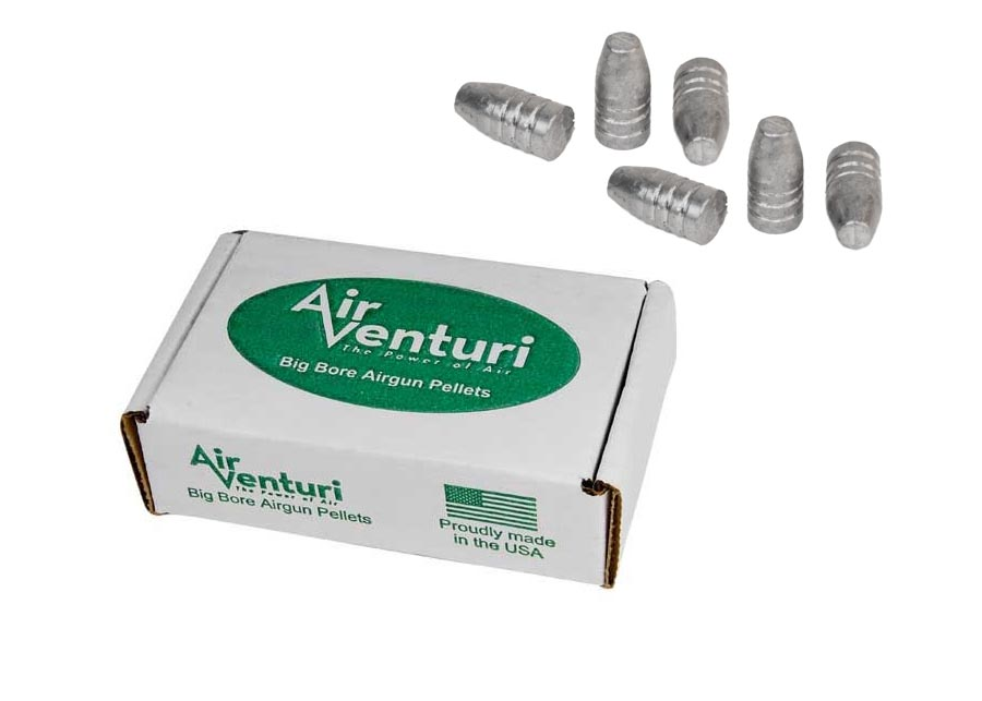 Air Venturi Flat Point .40 Cal, 252 gr - 50 ct