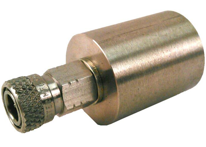 Air Venturi Long 300 DIN Female Fitting, Female Quick-Disconnect