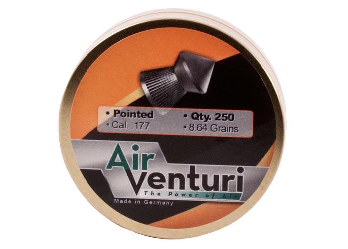 Air Venturi Pointed .177 Cal, 8.64 gr - 250 ct