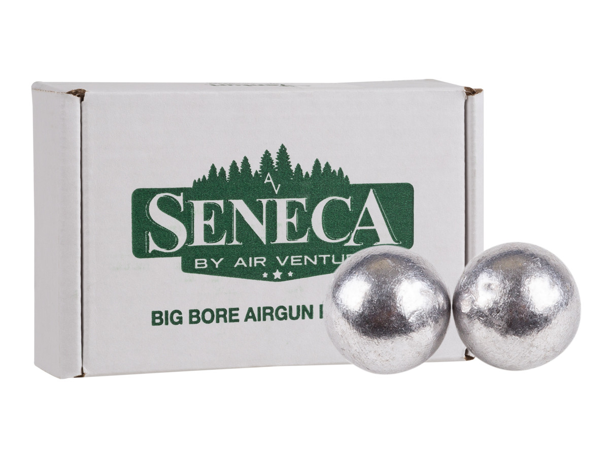 Seneca Round Ball .358 Caliber, 66 Grains - 100ct