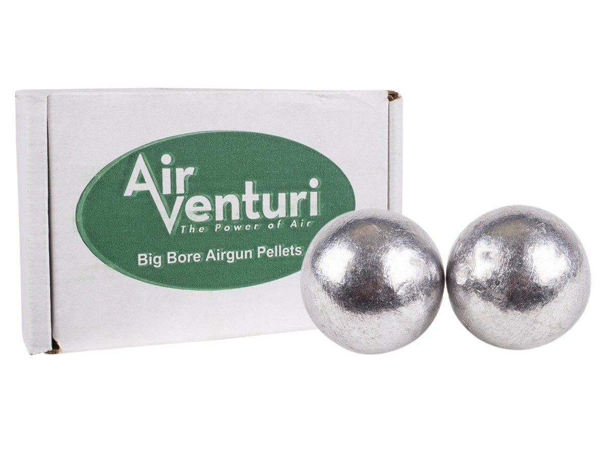 Air Venturi Round Ball .50 Cal, 177 gr - 100 ct