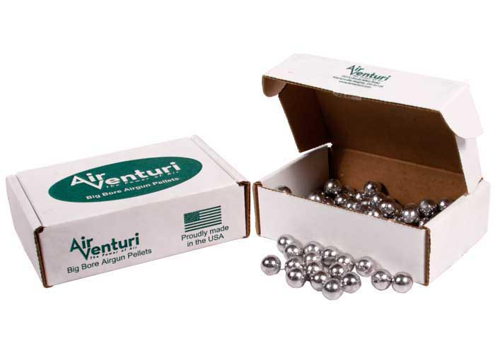 Air Venturi Round Ball 9mm, 67 gr - 200 ct