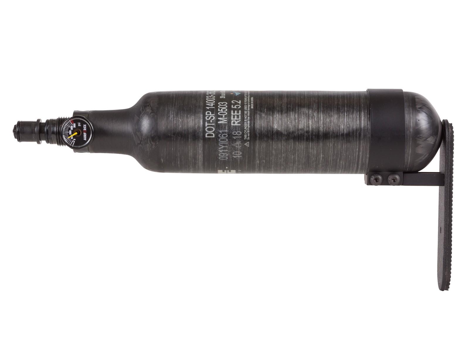 AirForce Carbon Fiber Spare Tank, Spin Loc, .457 Caliber