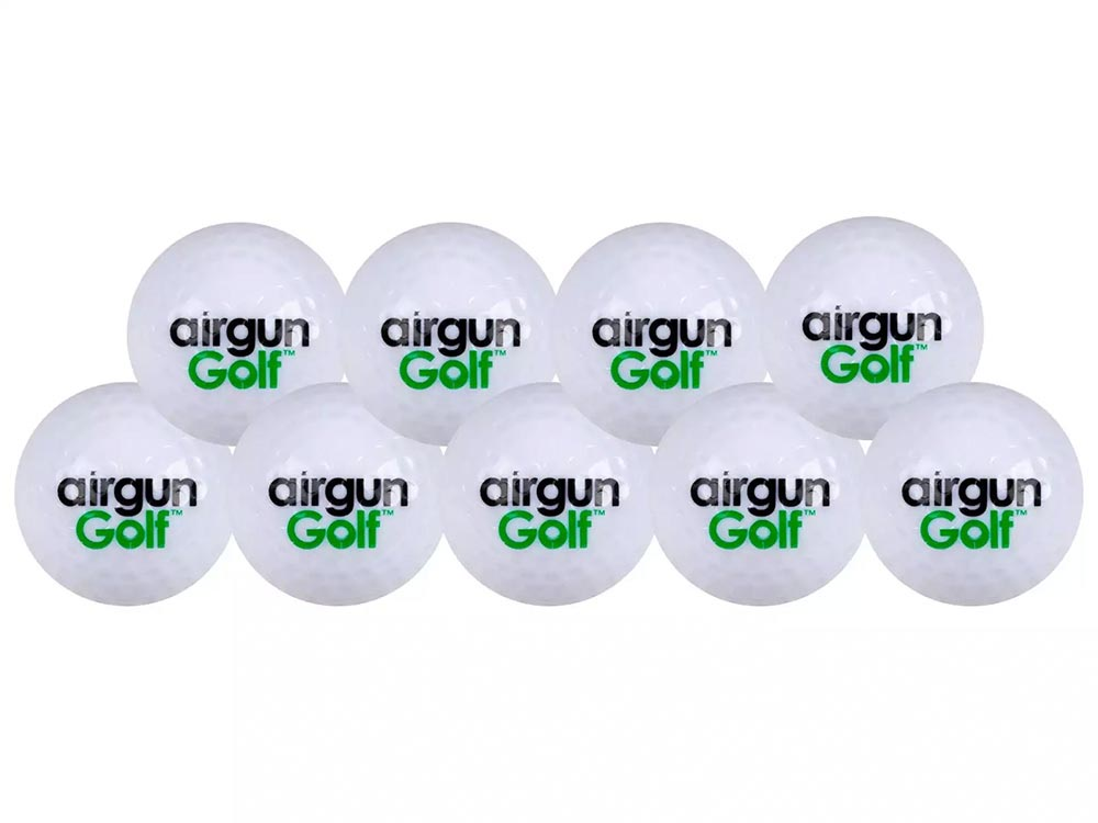 Airgun Golf Exploding Golf Ball, 9ct