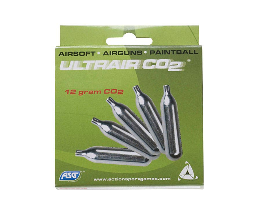 ASG UltraAir CO2, 5 Pack