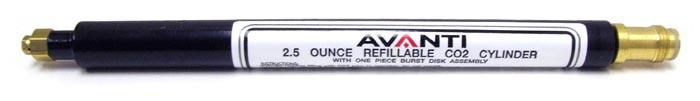 Avanti 2.5 oz Refillable Cylinder