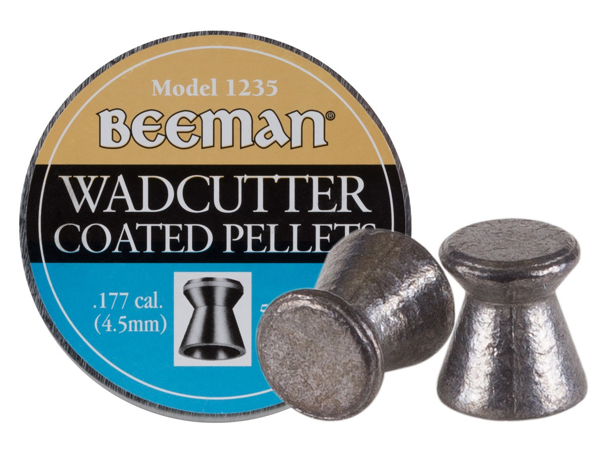 Beeman Wadcutter Coated .177 Cal, 7.7 gr - 500 ct