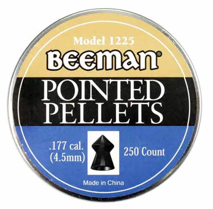 Beeman Pointed .177 Cal, 8.53 gr - 250 ct