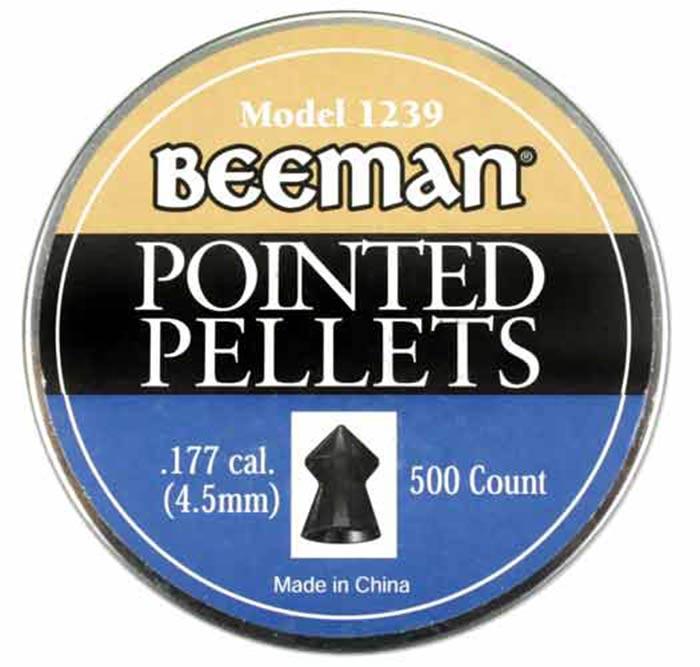 Beeman Pointed .177 Cal, 8.53 gr - 500 ct