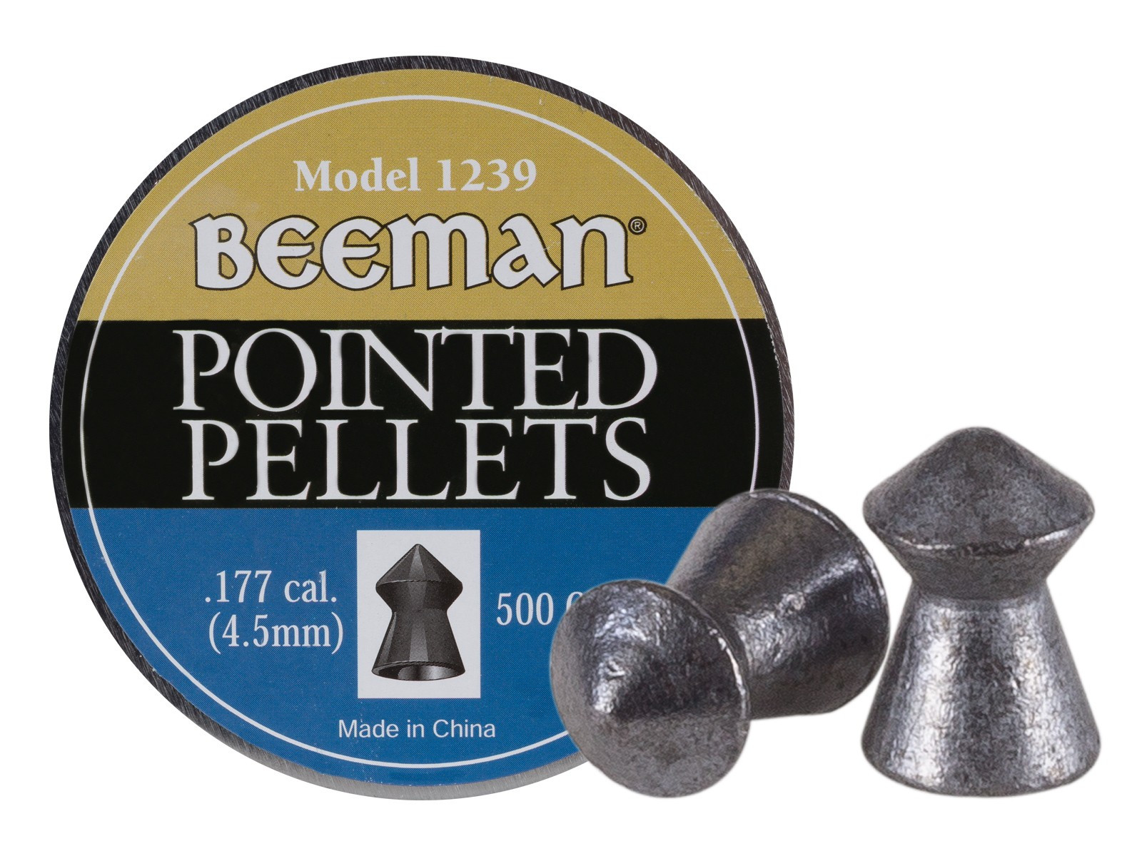 Beeman Pointed .177 Cal, 8.53 gr - 500 ct