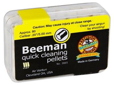 Beeman Quick Cleaning Pellets .20 Cal - 80 ct
