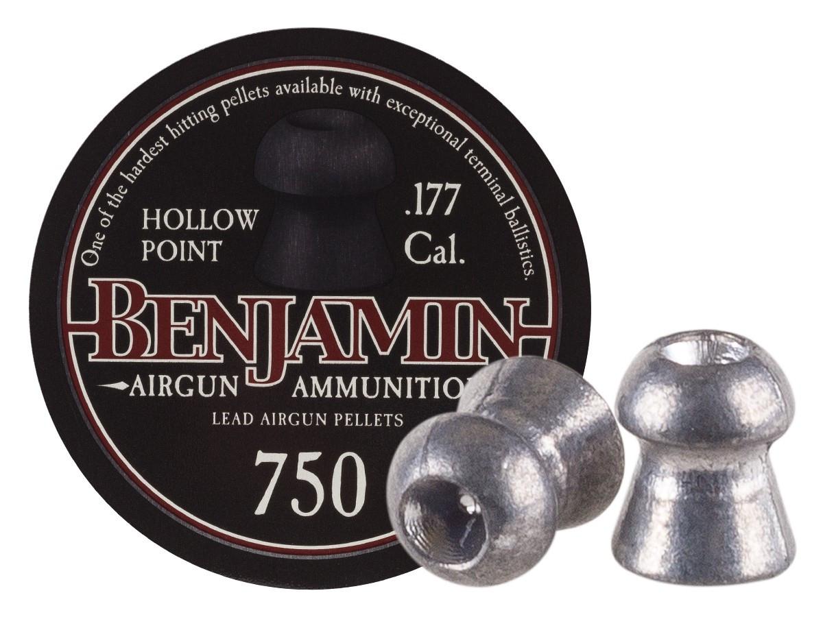 Benjamin .177 Cal, 7.9 gr - 750 ct