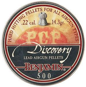 Benjamin Discovery Hollowpoint .22 Cal, 14.3 gr - 500 ct