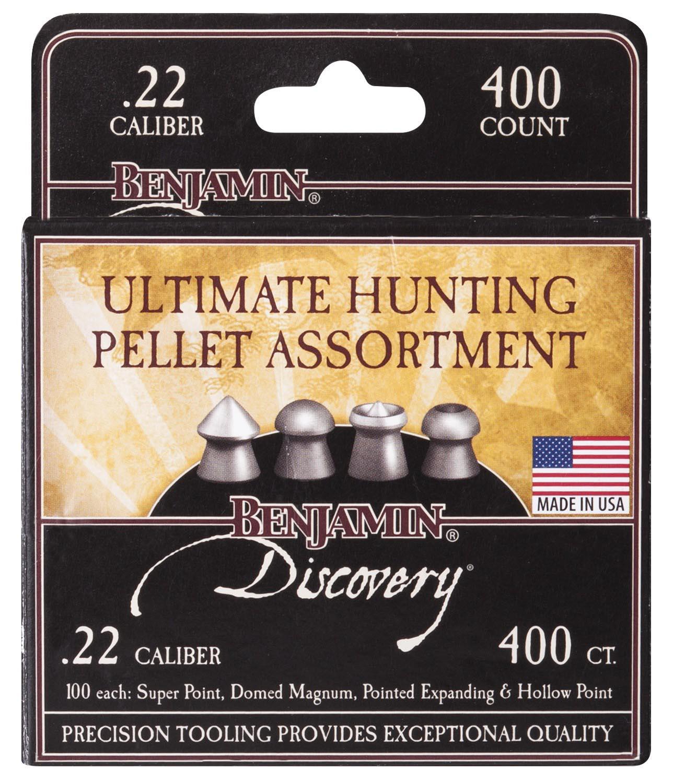 Benjamin Discovery Hunting Assortment .22 Cal - 400 ct