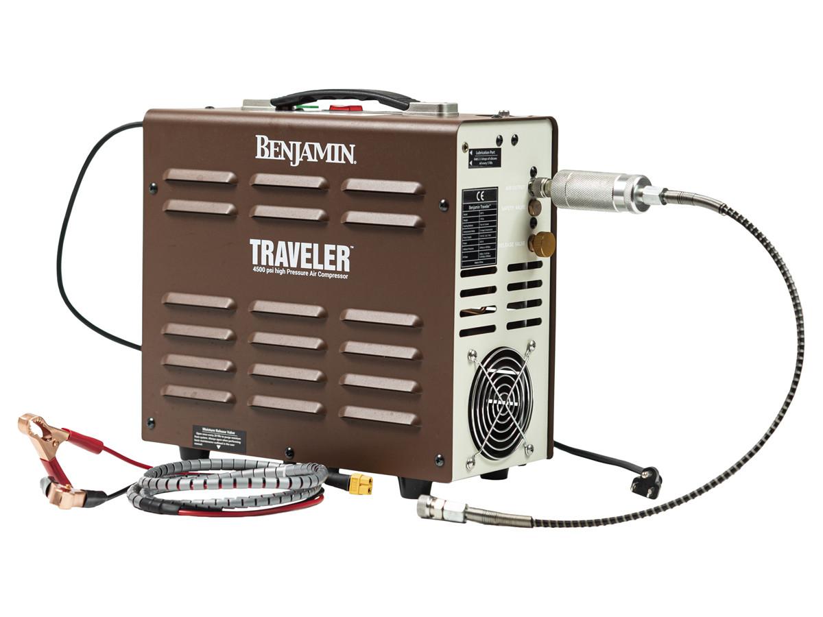 Benjamin Traveler Gen 2 Compressor, 4500 PSI