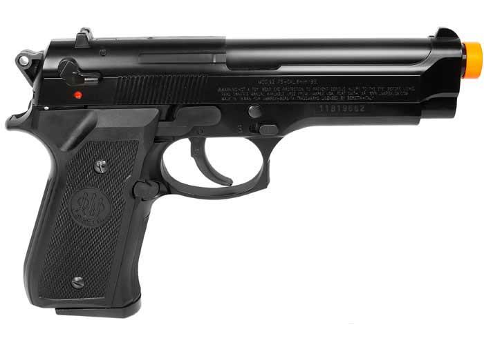 Beretta 92 FS Airsoft Pistol, Black