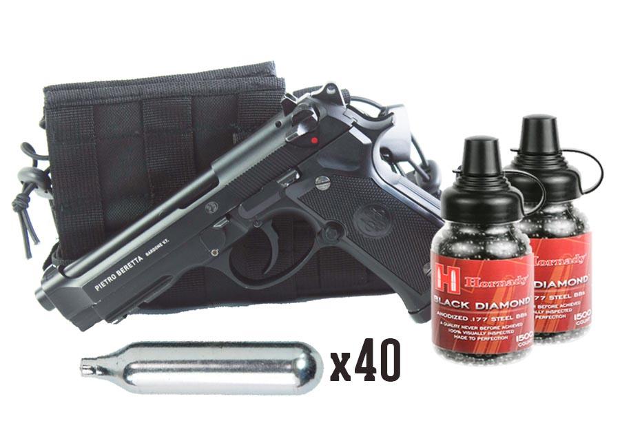 Beretta 92A1, Black Diamond Combo