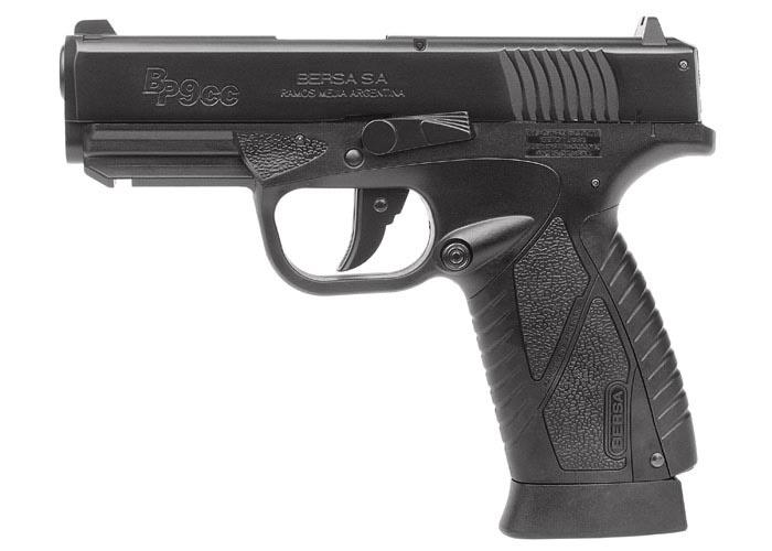 Bersa BP9CC BB Pistol, Black