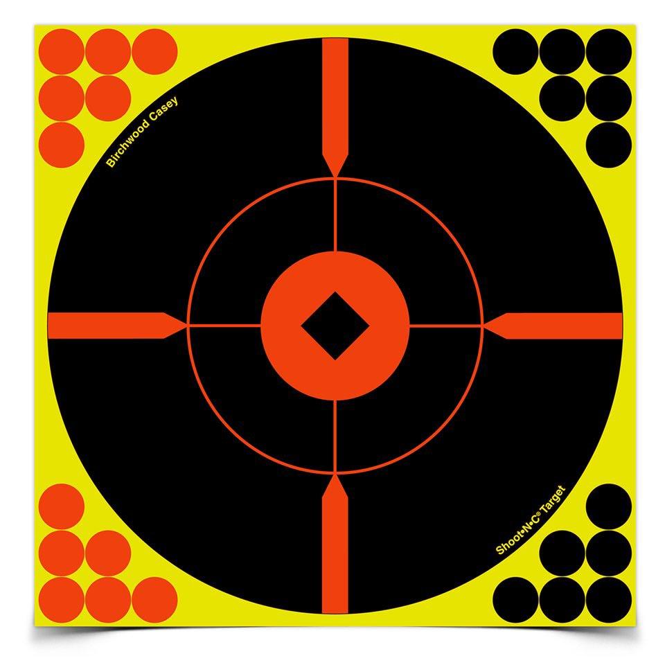 "Birchwood Casey Shoot-N-C 8"" Round X Targets, 50 ct"