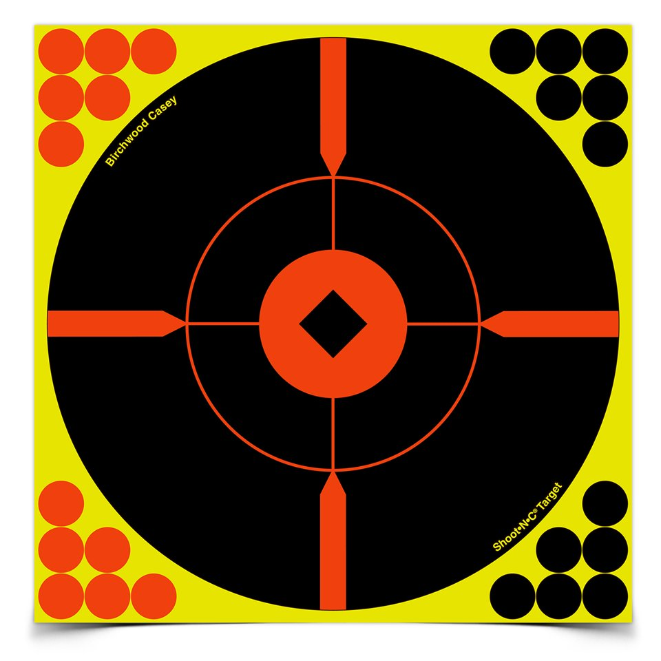 "Birchwood Casey Shoot-N-C 8"" Round X Targets, 6 ct"
