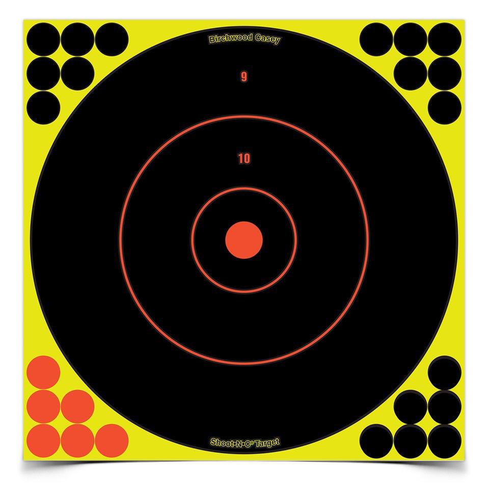 "Birchwood Casey Shoot-N-C 12"" Bullseye Targets"