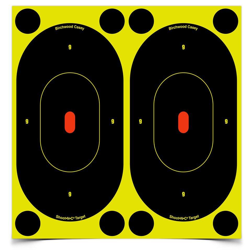 Birchwood Casey Shoot-N-C Silhouette Targets