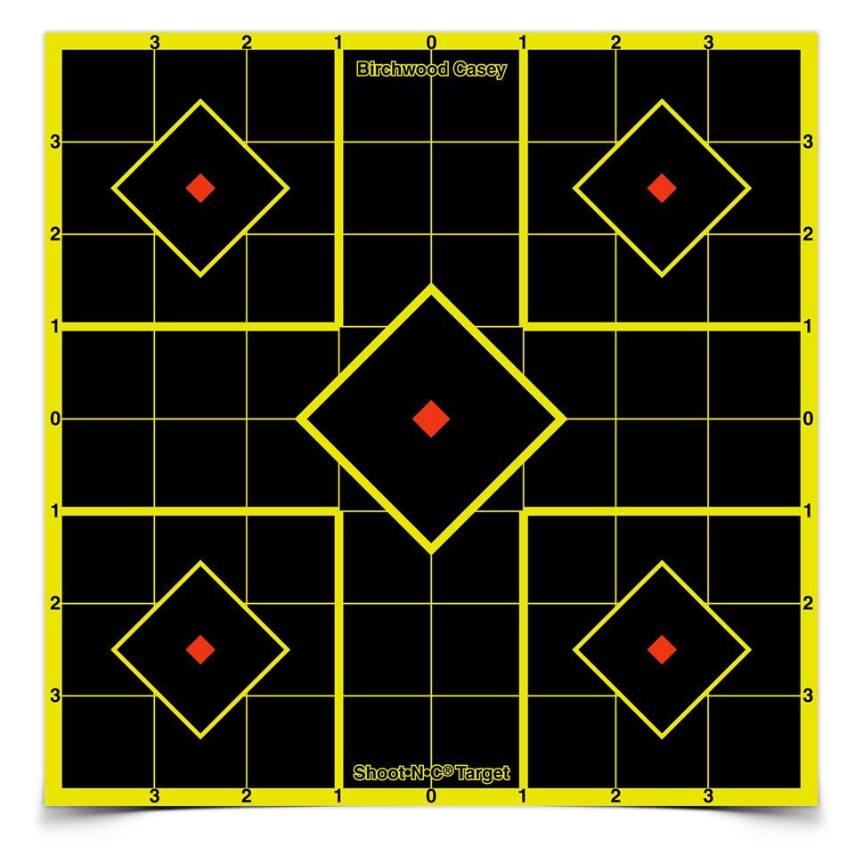 "Birchwood Casey Shoot-N-C 8"" Sight-In Targets, 6 ct"