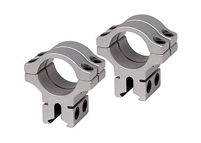 "BKL Double Strap 1"" Rings, Dovetail, Silver"