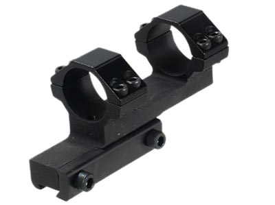 """CenterPoint High Off-Set Mount, 1"""" Rings, Dovetail"""