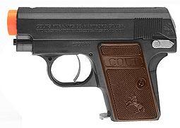 Colt .25 Airsoft Pistol, Black